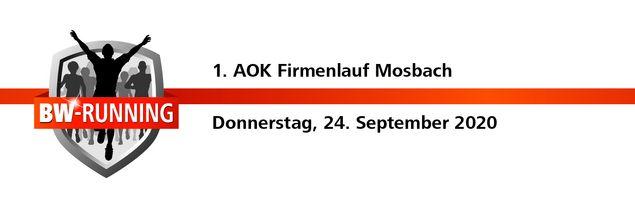1. AOK Firmenlauf Mosbach